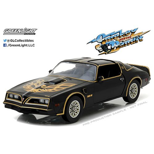 Smokey and the Bandit 1977 Pontiac Firebird Trans Am Artisan Collection 1:18 Scale Die-Cast Metal Ve