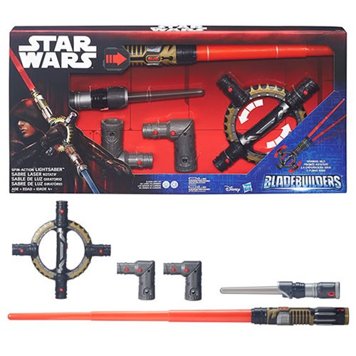 Star Wars Rogue One Bladebuilder Spin-Action Lightsaber