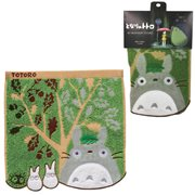 My Neighbor Totoro Totoro and Acorn Tree Mini Towel