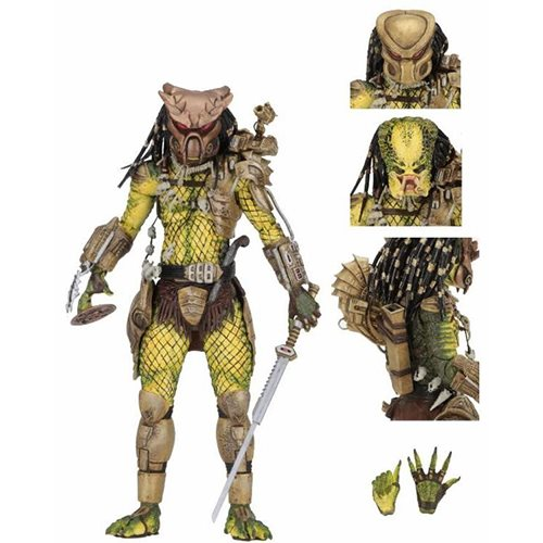Predator Ultimate Golden Angel 7-Inch Scale Action Figure
