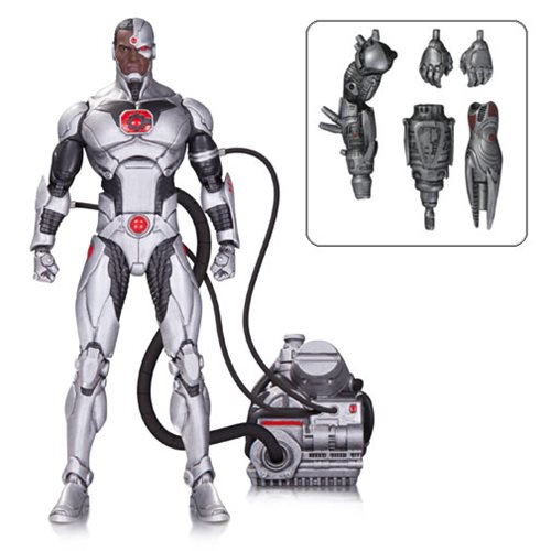 DC Icons Cyborg Justice League Forever Evil Deluxe Action Figure