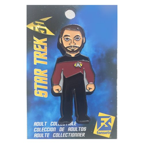 Star Trek William T. Riker Pin