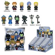 Kingdom Hearts Series 2 3-D Figural Key Chain Random 6-Pack