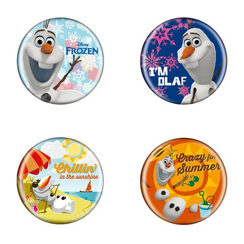 Disney Frozen Button Pin Set B