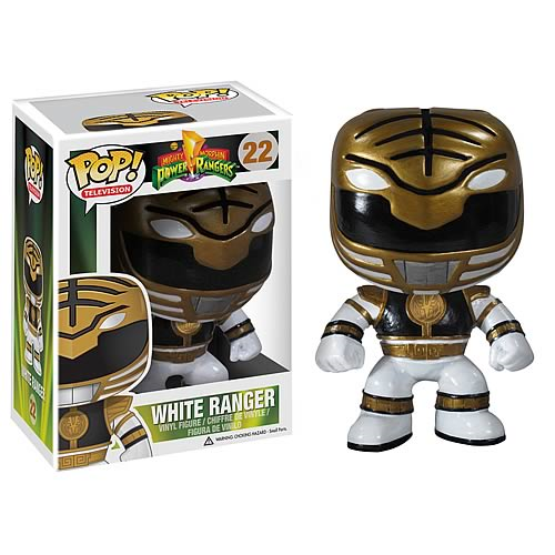 Mighty Morphin Power Rangers White Ranger Pop! Vinyl Figure