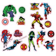 Marvel Comics Character Car Graphics Set