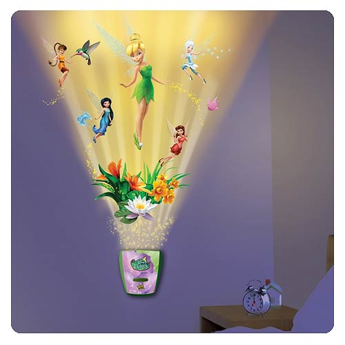 Peter Pan Garden Of Fairy Friends Night Light W Sound
