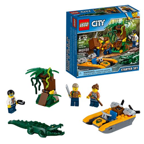 LEGO City Jungle 60157 Jungle Starter Set