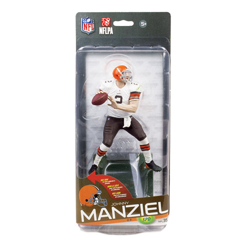 NFL Series 35 Johnny Manziel Bronze Collector Level Action Figure