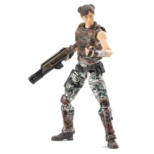 Aliens Colonial Marine Pvt. Bella 1:18 Scale Action Figure - Previews Exclusive
