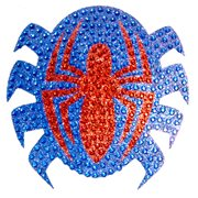 Spider-Man Logo Crystal Studded Decal