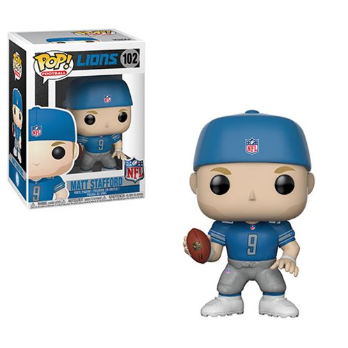 NFL Matt Stafford Lions Pop! Vinyl Figure #102