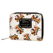 Mickey Mouse Rainbow Print Wallet
