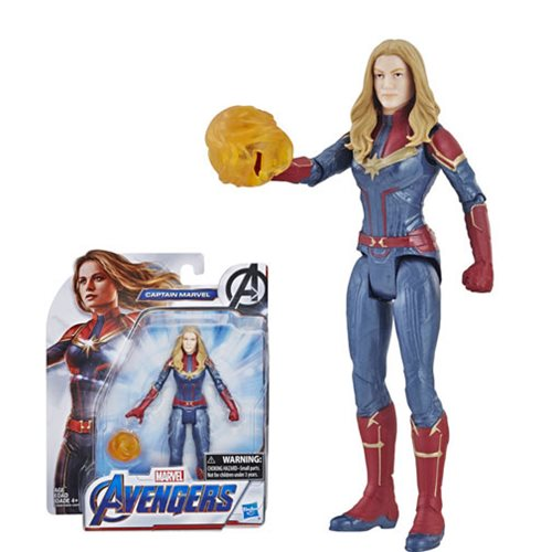 Avengers Endgame Captain Marvel Action Figure   , Not Mint