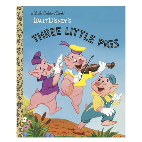 The Three Little Pigs Little Golden Book