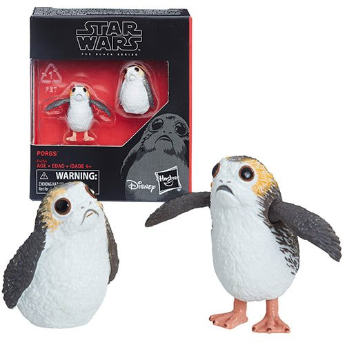 Star Wars The Black Series Porg Action Figure Set