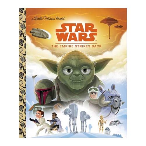 Star Wars: Episode V - The Empire Strikes Back Little Golden Book