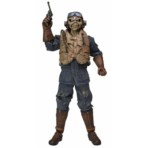 Iron Maiden Aces High 8-Inch Cloth Action Figure