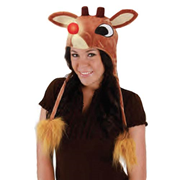 Rudolph the Red-Nosed Reindeer Light-up Laplander Hat