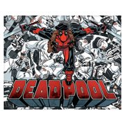 Deadpool Body Pile Canvas Print