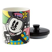 Disney Minnie Mouse Canister Cookie Jar by Romero Britto