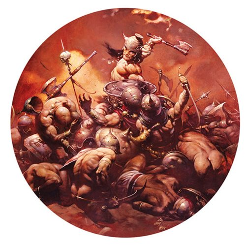 Frank Frazetta The Destroyer Magnet