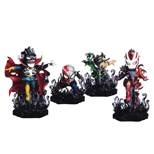 Marvel Maximum Venom MEA-018 Venomized Mini-Figure 4-Pack