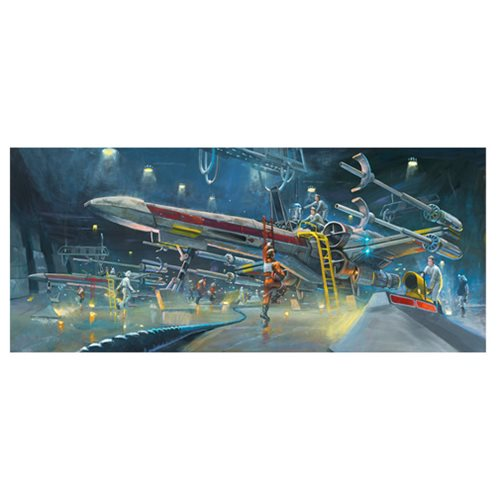 Star Wars Rebel Starfighters by Bryan Snuffer Canvas Giclee Art Print
