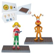 Inspector Gadget Brain and Penny Megahero Series Action Figure 2-Pack