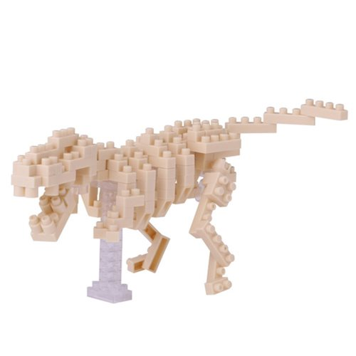 T-Rex Skeleton Model Small Nanoblock Constructible Figure
