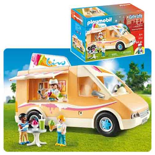 Playmobil 9114 Ice Cream Truck