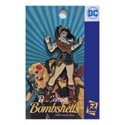 DC Bombshells Wonder Woman Fists Up Pin