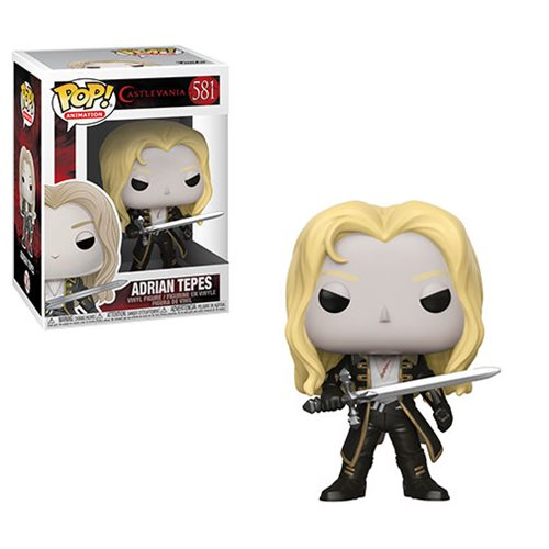 Castlevania Adrian Tepes Pop! Vinyl Figure, Not Mint