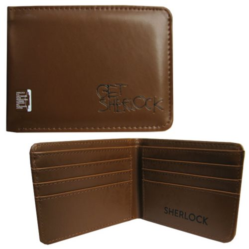 Sherlock Get Sherlock Brown Wallet