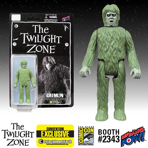 The Twilight Zone Gremlin 3 3/4-Inch Action Figure In Color Series 1 - Convention Exclusive