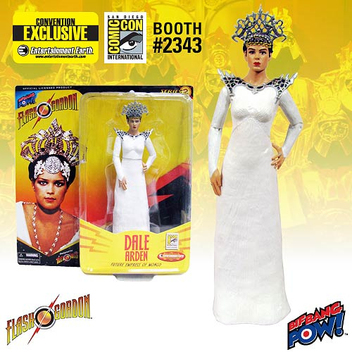 Alex Ross Flash Gordon Dale Arden in White Gown 7-Inch Action Figure - Convention Exclusive