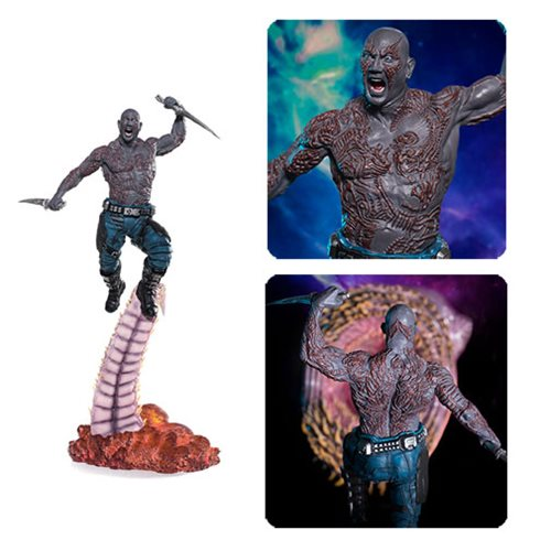 Guardians of the Galaxy Vol. 2 Drax Battle Diorama Series 1:10 Scale Statue