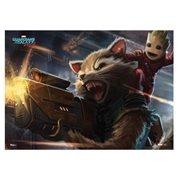 Guardians of the Galaxy Vol. 2 Rocket and Baby Groot MightyPrint Wall Art Print