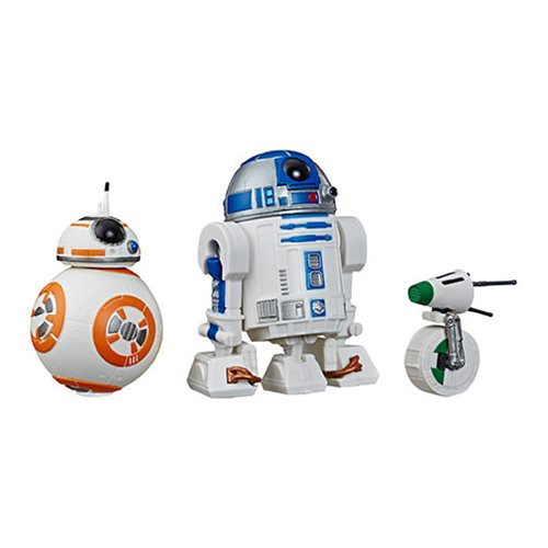 Star Wars: The Rise of Skywalker Galaxy of Adventures R2-D2, BB-8, D-O Action Figures
