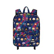 Avengers Chibi Print Nylon Backpack