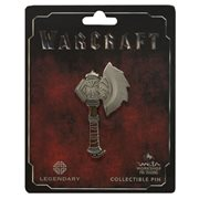 Warcraft Durotan's Axe Pin