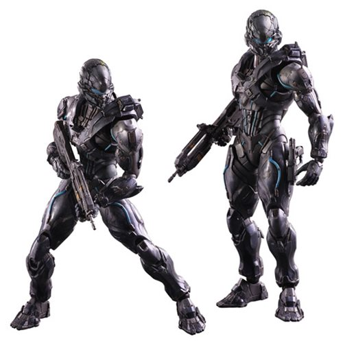 Halo 5 Guardians Spartan Locke Play Arts Kai Action Figure