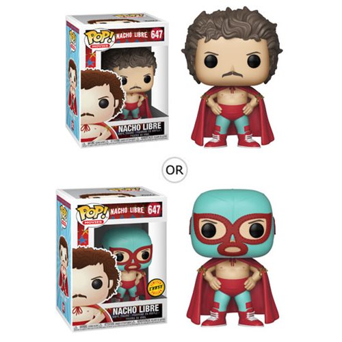 Nacho Libre Nacho Pop! Vinyl Figure #647, Not Mint