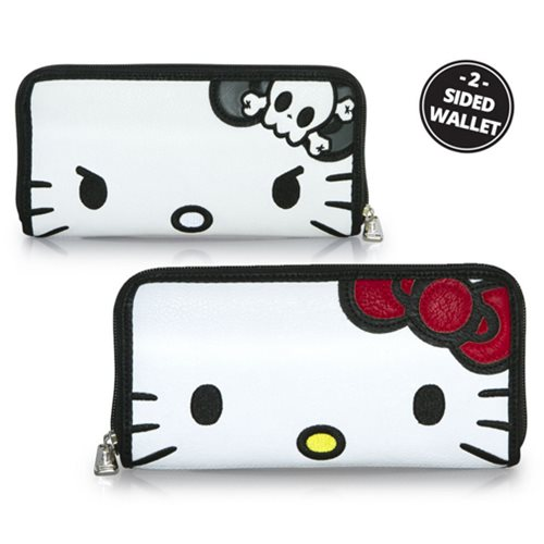 Hello Kitty Two Face Zip-Around Wallet