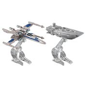 Star Wars Hot Wheels Force Awakens First Order Transporter vs. X-Wing Fighter Vehicle 2-Pack