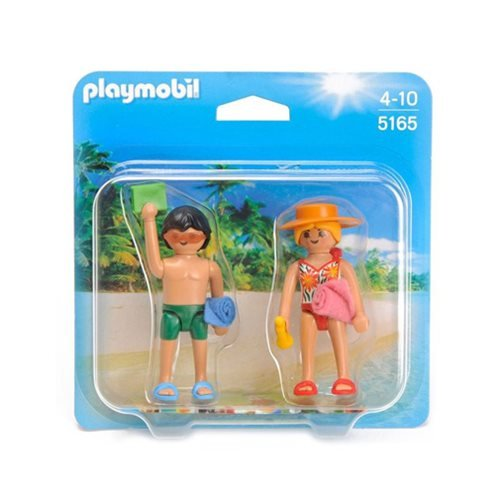 Playmobil 5165 Beachgoers Duo Pack Action Figures