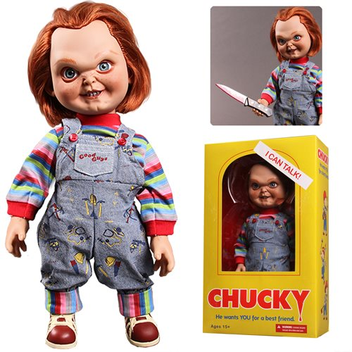 Child's Play Sneering Chucky 15-Inch Talking Doll