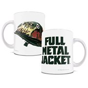 Full Metal Jacket Born to Kill 11 oz. White Ceramic Mug