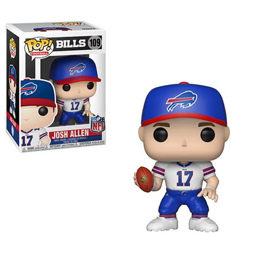 NFL Draft Josh Allen Pop! Vinyl Figure #109, Not Mint
