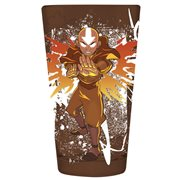 Avatar the Last Airbender Avatar Aang Pint Glass